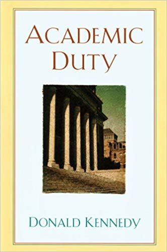 Book cover of Academic Duty
