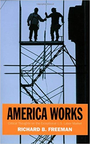 Book cover of America Works