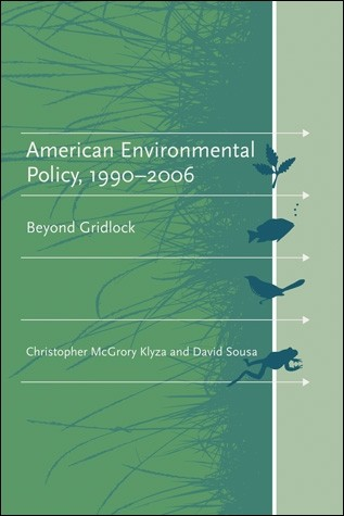 American environment policy book cover