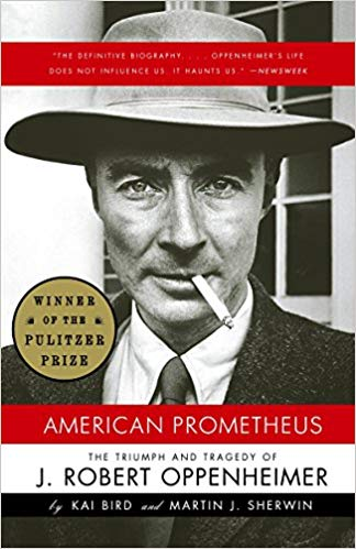 Book cover of American Prometheus The Triumph and Tragedy of J. Robert Oppenheimer