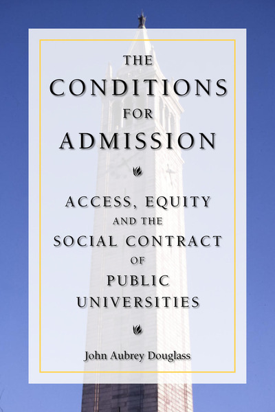 The Conditions for Admissions book cover