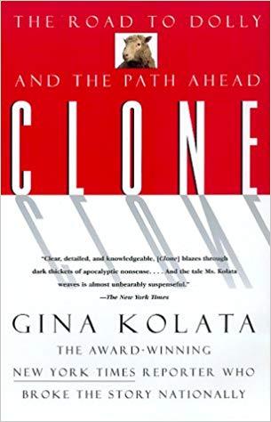 Clone book cover by Gina Kolata