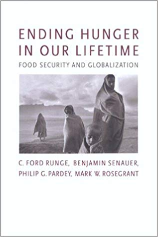 Ending Hunger in our Lifetime book cover by C. Ford Runge
