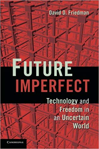Cover of book titled Future Imperfect
