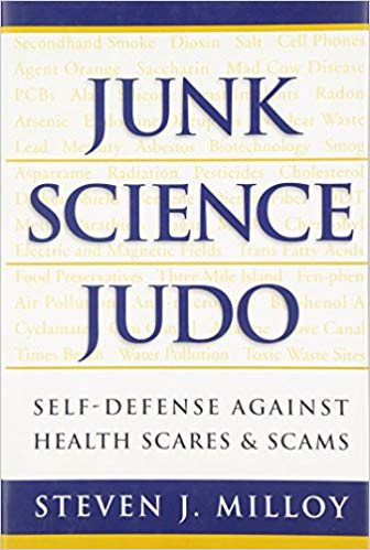 Book cover of Junk Science Judo