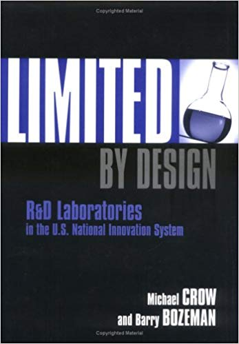 Limited by Design book cover by Michael Crow