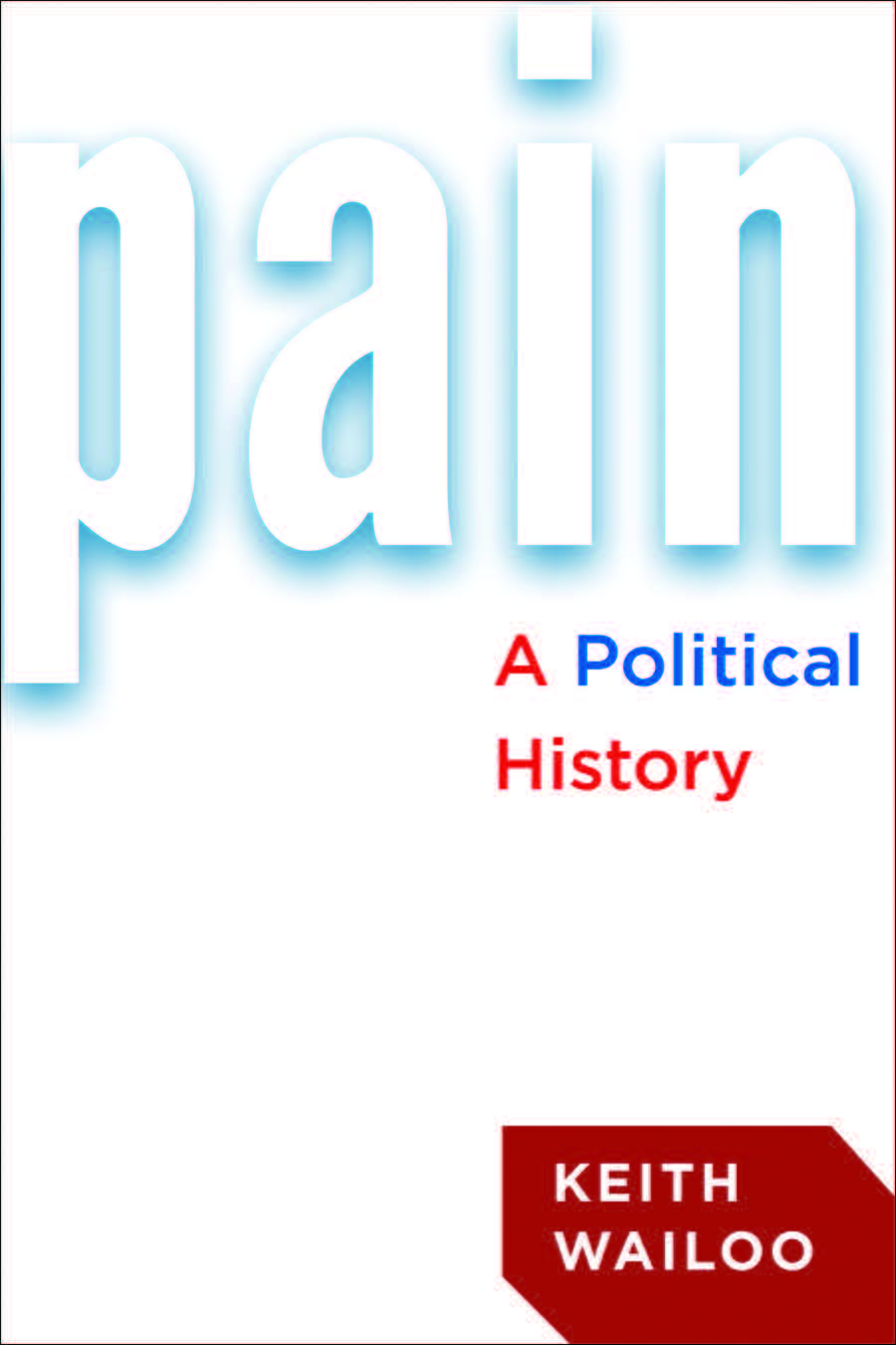 Pain a political history cover