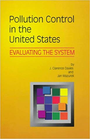 Pollution Control in the United States book cover by J. Clarence Davies