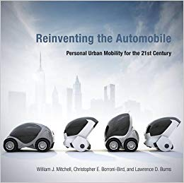 Book cover of Reinventing the Automobile
