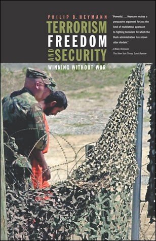 Terrorism Freedom and Security book cover