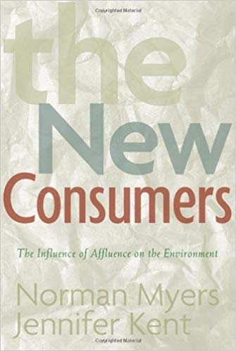 The New Consumers book cover by Norman Myers