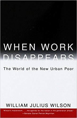 When Work Disappears book cover by William Julius Wilson