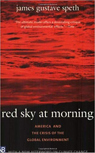 Red Sky at Morning book cover by James Gustave Speth