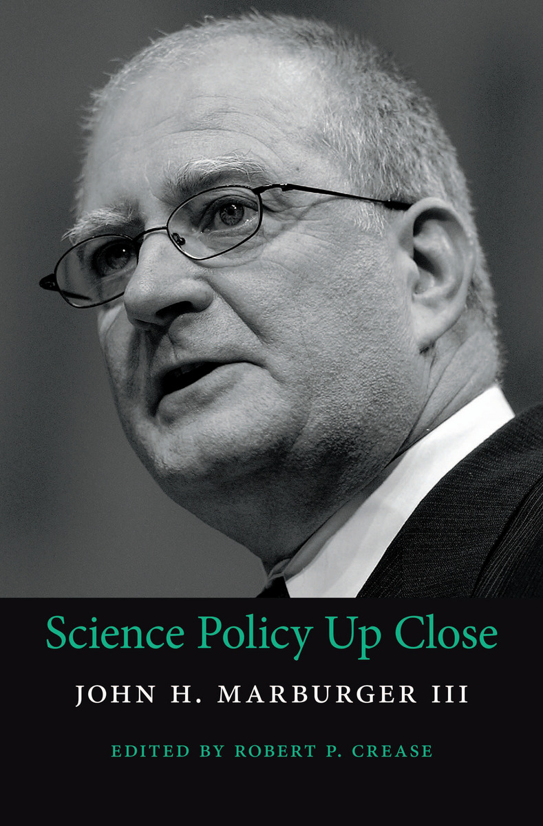 Science Policy book cover by John Marburger