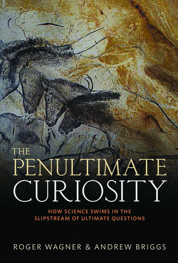 The Penultimate Curiosity Book Cover with cave paintings of horses