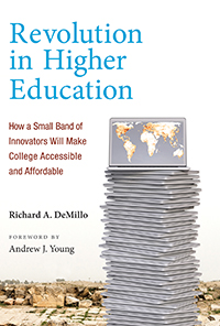 book review confronting the crisis in higher ed in  revolution in higher education book cover web