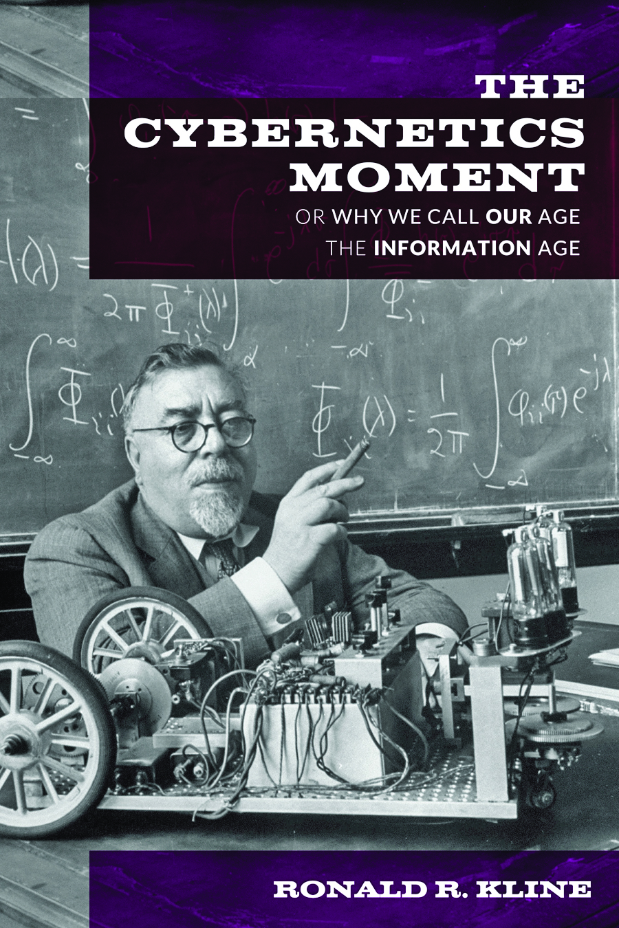 The Cybernetics Moment book cover