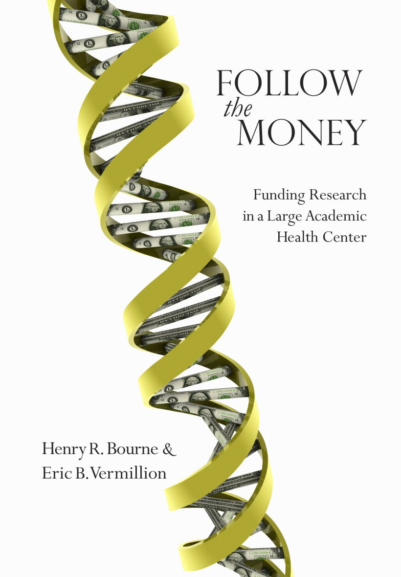 Follow the Money Cover: Money in a DNA strand