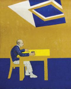 "William Utermohlen, ""Blue Skies"" (1995)"