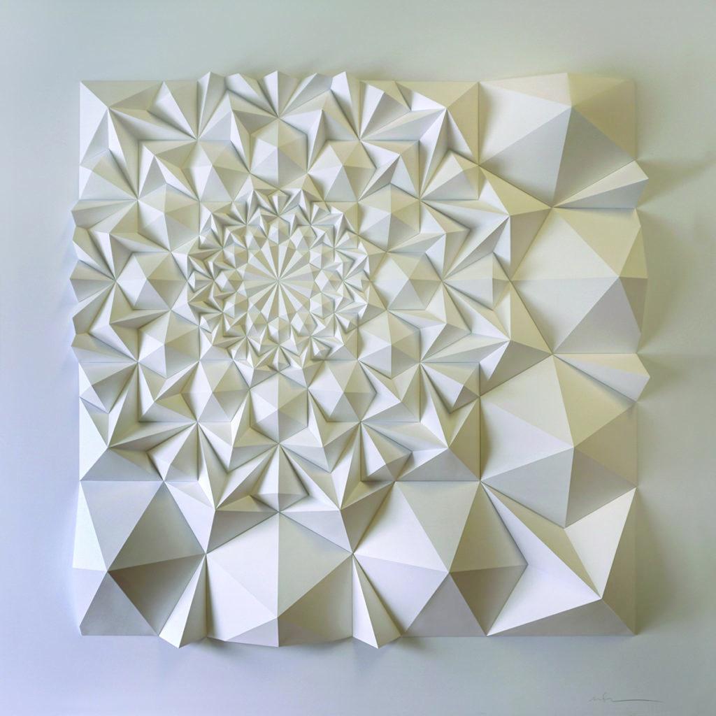 A geometric art piece