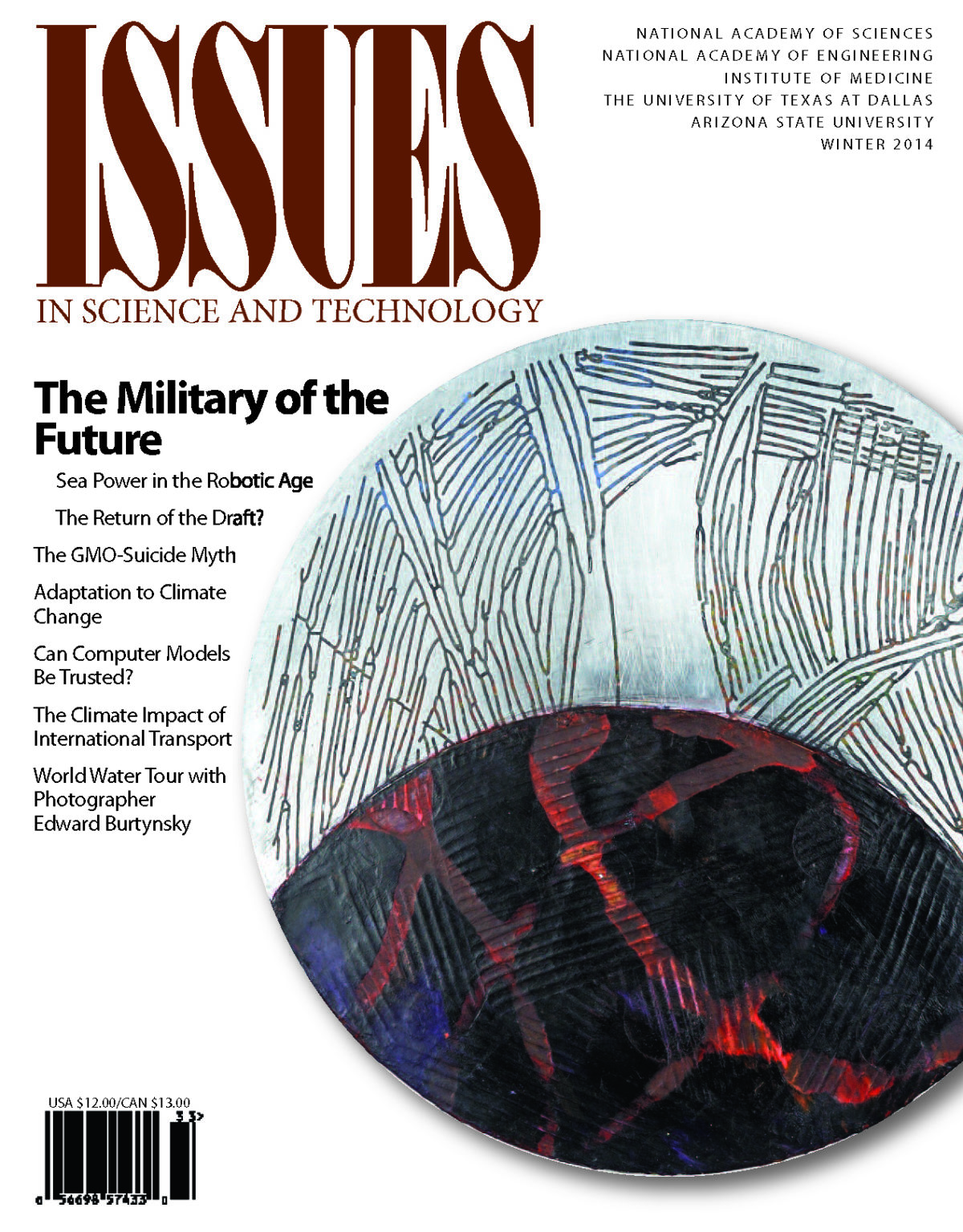 Issues Winter 2014 The Military of the Future Front cover