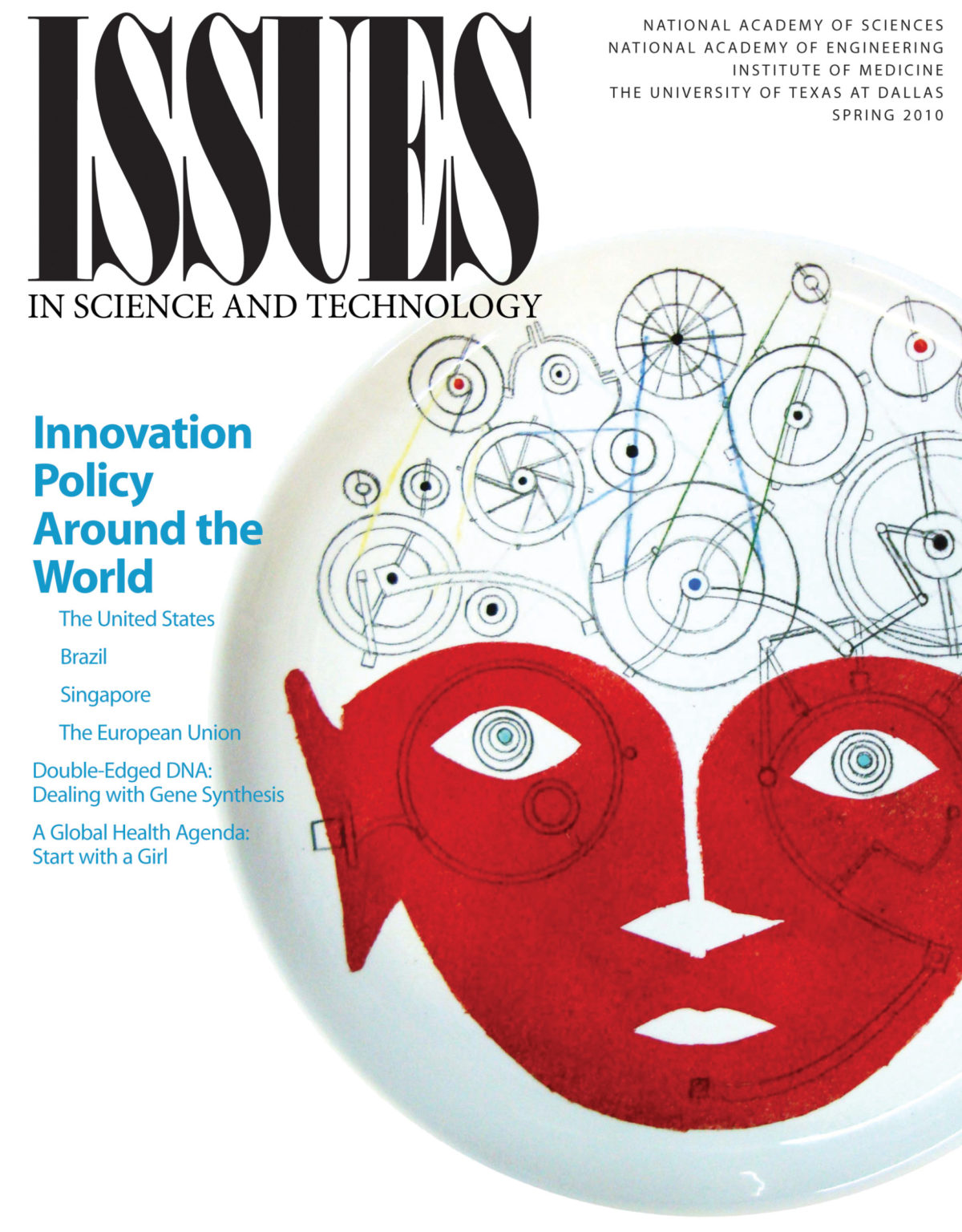 Issues Spring 2010 Innovation policy around the world cover
