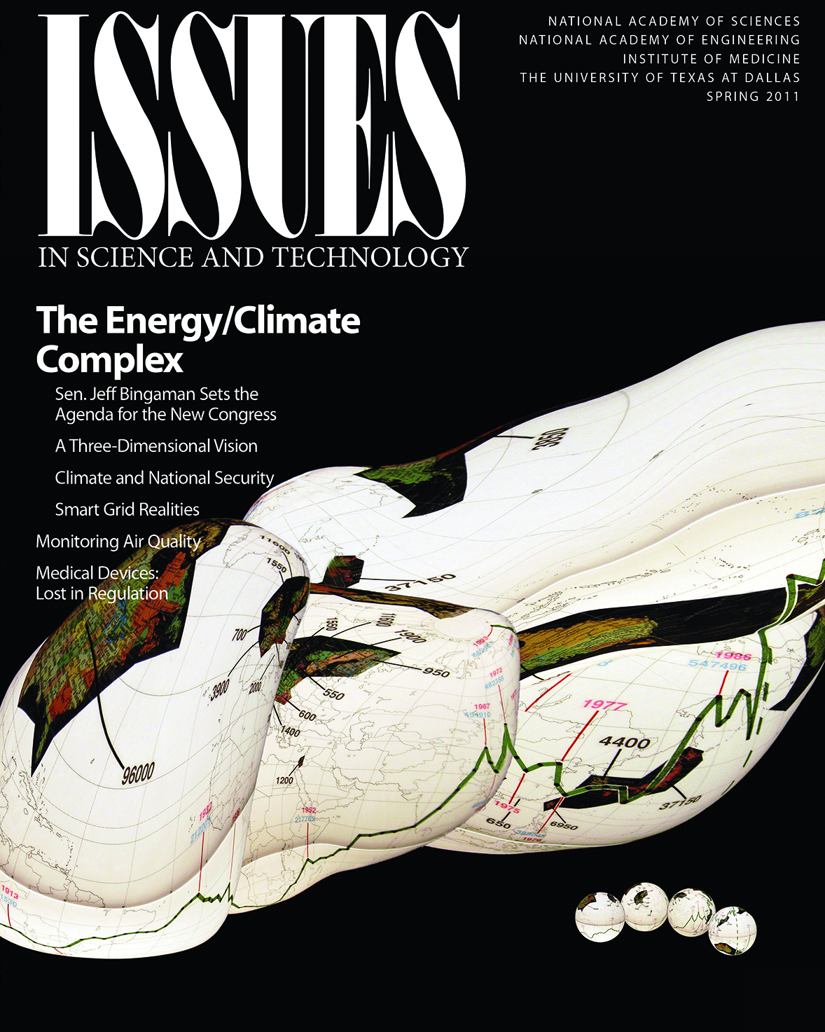 Issues Spring 2011 The energy/climate cover