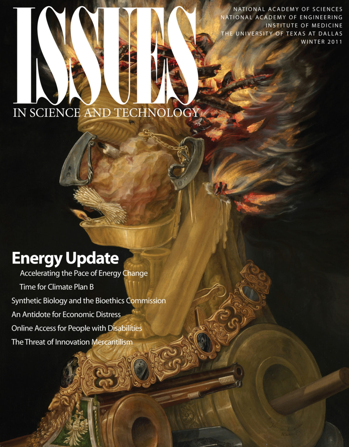 Issues Winter 2011 Energy Update cover