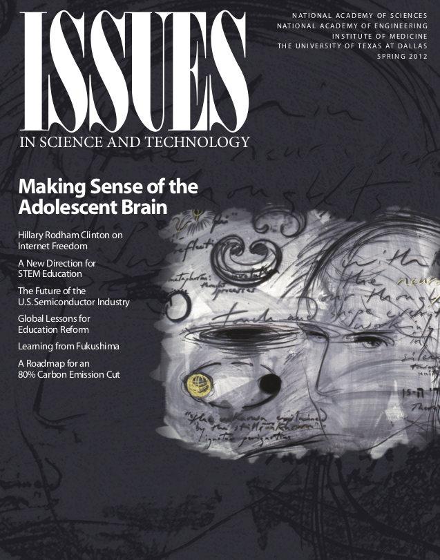 Issues Spring 2012 Making Sense of the Adolescent Brain cover