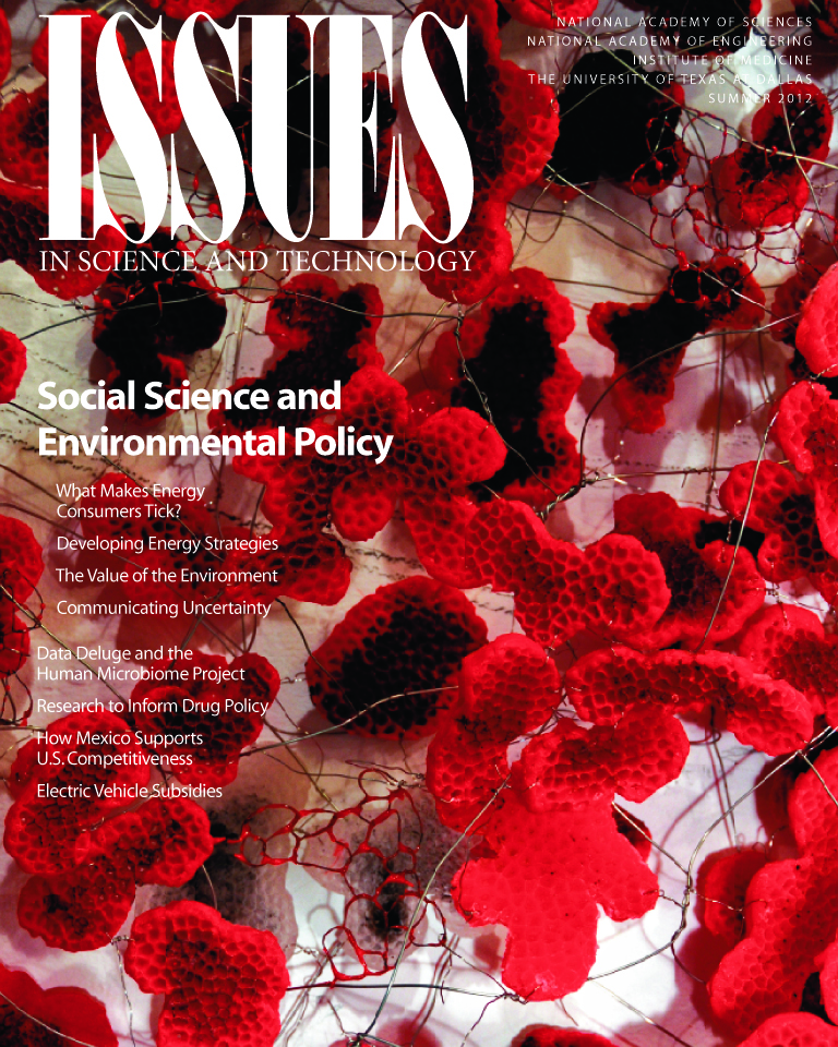 Issues Summer 2017 Social Science and Environmental Policy front cover