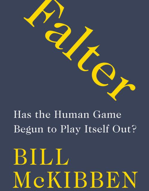 Book cover of Falter