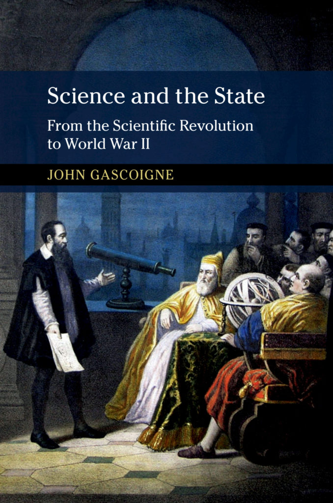 SCIENCE AND THE STATE by John Gascoigne