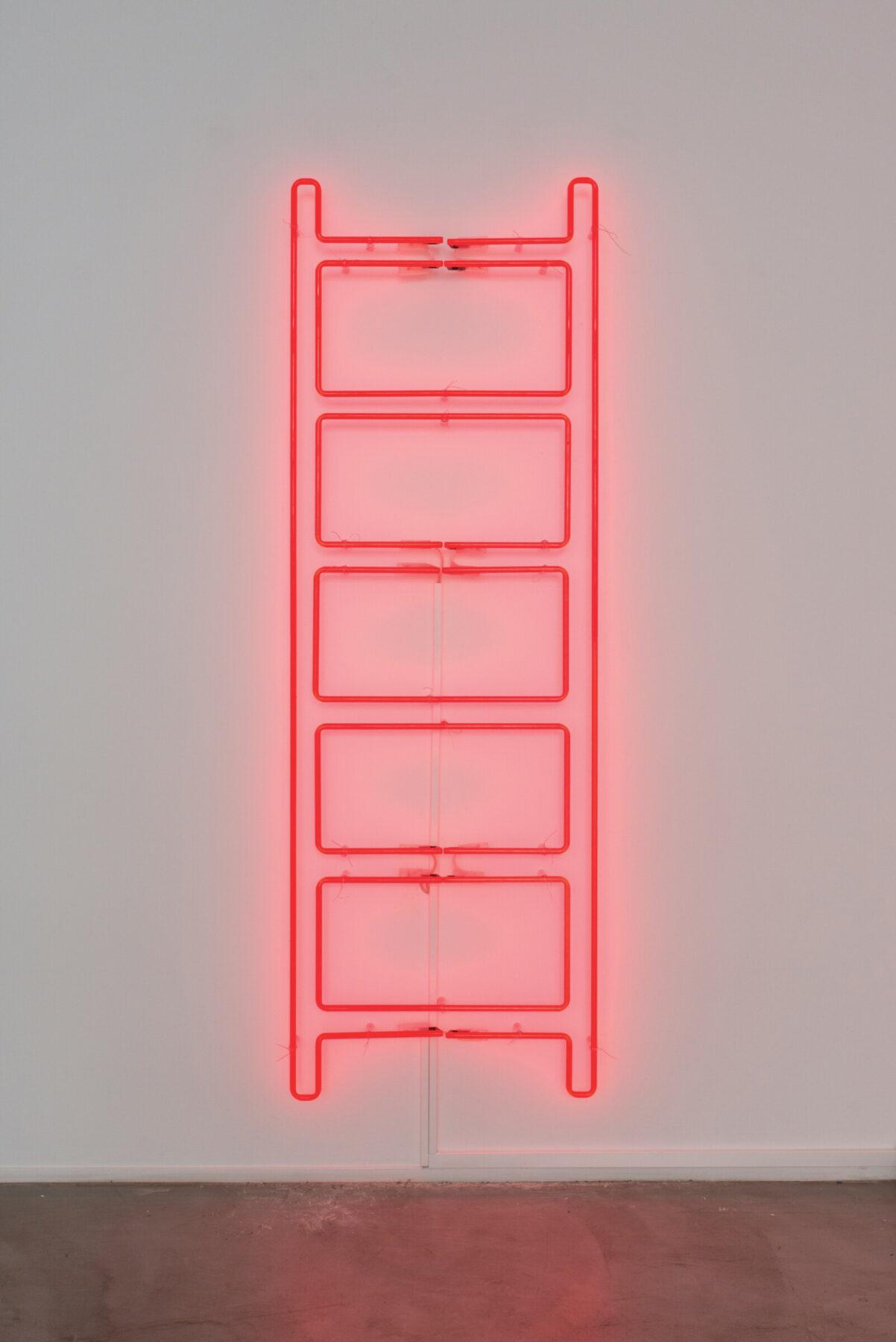 """Iván Navarro, """"Emergency Ladder"""" (2018)"""