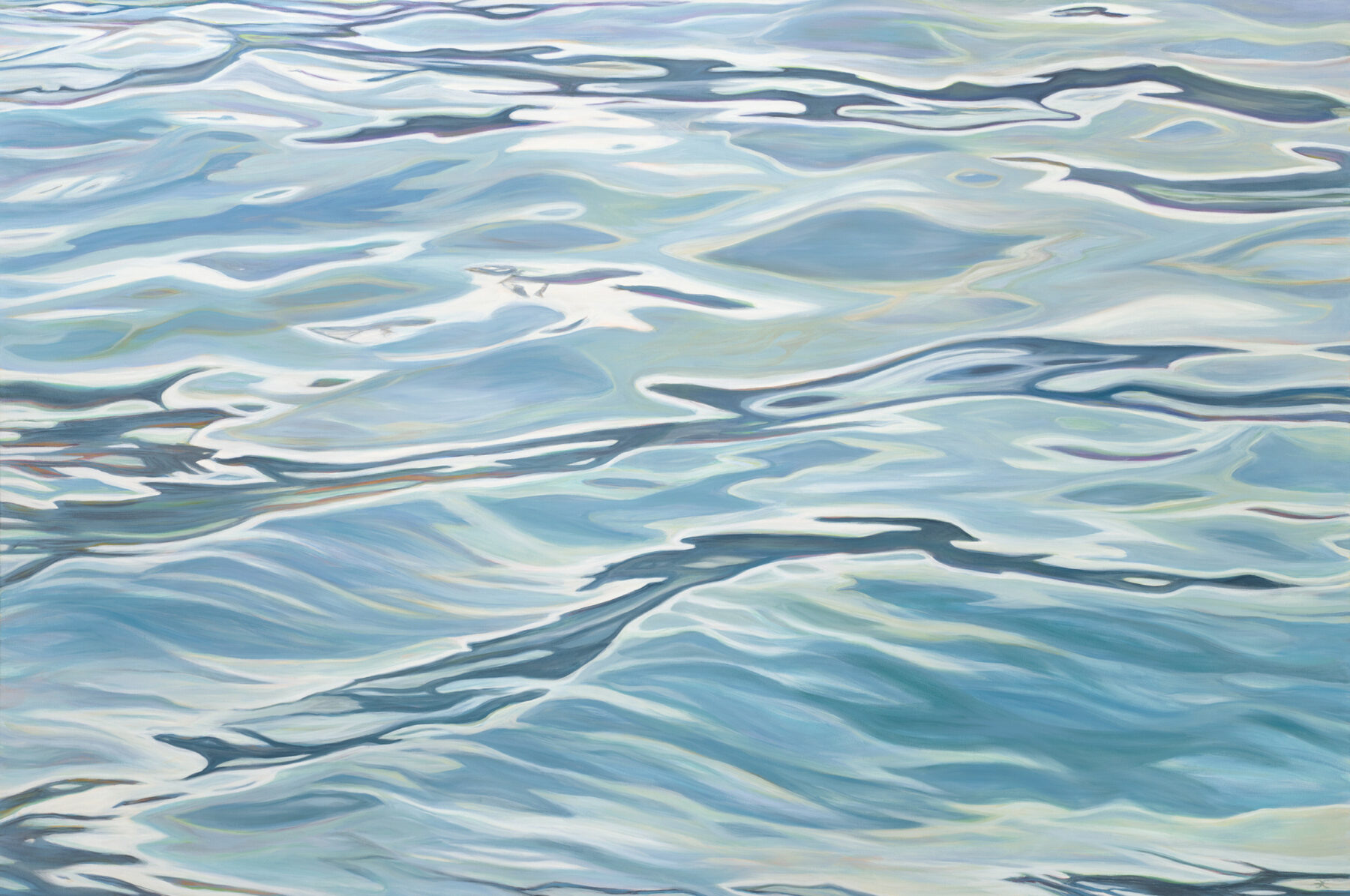 """Fredericka Foster, """"River Revisited"""" (2017)."""